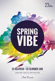Spring Flyer Template Spring Vibe Flyer Template By StyleWish On Dropr 2