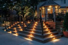outside deck lighting. recessed deck lighting ideas outside e