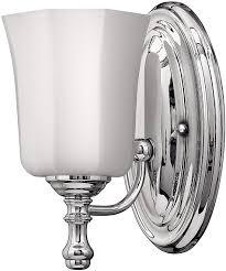 Hinkley Lighting Bathroom Light Fixtures Hinkley Lighting 5010cm Shelly Single Light Bathroom