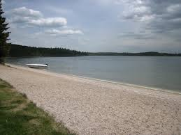 Lac Des Iles Depth Chart Meadow Lake Provincial Park Murray Doell Campground Beach At