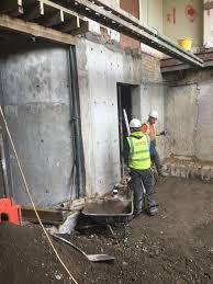 heslop road basement construction foran construction project description