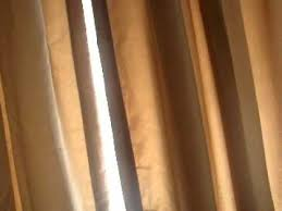 hanging curtains and a rod with no