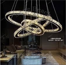 2 ring crystal chandelier hot diamond ring led crystal chandelier light modern chandelier