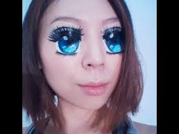 how to do an animeeye makeup