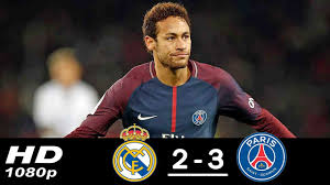 Real Madrid vs PSG 2-3 All Goals & Highlights (Last Matches) HD ...