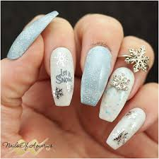 snowflake nail art designs page 47