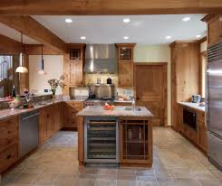 Kitchen cabinets wood Design Knotty Alder Kitchen Cabinets In Natural Finish By Kitchen Craft Cabinetry Home Depot Wood Cabinet Designs Kitchen Craft Cabinetry
