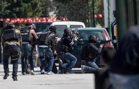 تونس - تونس - مواجهات بين قوات الامن ومحتجين عقب مقتل شاب صدمته سيارة شرطة