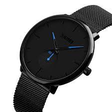 <b>Fashion Sport Men's Watches</b> Stainless Steel Analog Quartz ...