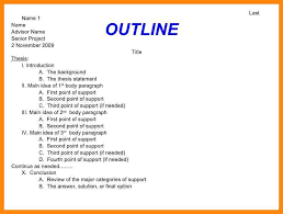expository essay outline examples co expository essay outline examples