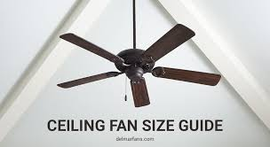 what size ceiling fan do i need