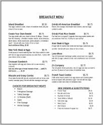 breakfast menu template breakfast menu template template resume examples bxk2z1pkyg