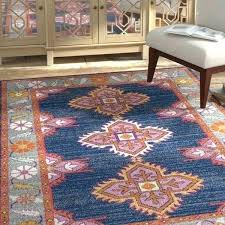 orange and blue rug bungalow rose navy pink gray area reviews rugby shirt bedding safavieh crystal orange and blue rug gray e area