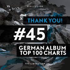 The Liberation Enters German Album Charts Disillusion