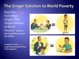 the singer solution to world poverty essay the singer solution to  the rhetorical triangle is defined as a diagram showing the the article from peter singer