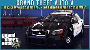 GTA V | 2013 Chevrolet Caprice PPV - Los Santos Sheriff's ...