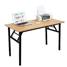 office desk table. Need Computer Desk Office 47\u0026quot; Folding Table Workstation No Install Needed, O