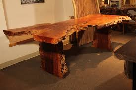 wood dining tables. Exotic Lychee Wood Live Edge Dining Table Tables