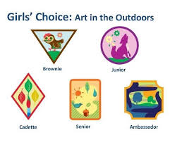 Online Badge Girls Choice Badge Art In Outdoors Requirements Now Online