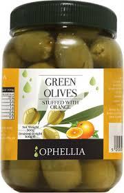 <b>Овощные консервы Ophellia Оливки</b> зеленые фаршированные ...
