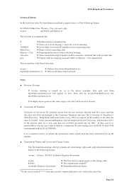 desk manual template draft hostgarcia procedure