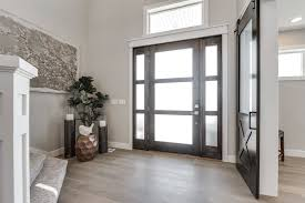 salt lake city gray hardwood with wallpaper and wall covering professionals entry craftsman floors way decor
