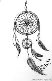 Black And White Dream Catcher Tumblr Beauteous Easy Tumblr Drawings Dream Catcher Photograph Best HQ Images