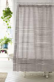 Bathroom: Gorgeous Beautiful White Fabric Shower Curtains Cheap ...