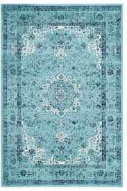 safavieh evoke grey ivory vintage area rug light blue contemporary home design