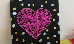 How To Do String Art Diy String Art Without Nails Room Decorations Youtube