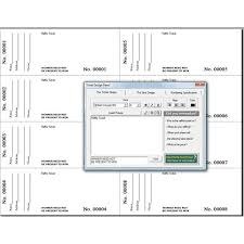 Raffle Tickets Software How To Get A Free Raffle Ticket Template For