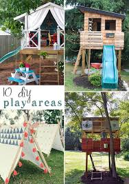 10 awesome DIY playset ideas!