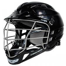 Cascade Lacrosse Helmet Cpv R Black