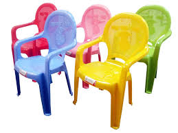 Plastic Table Chair Set Kids Children039s Strong Plastic Childrens Chair Duck Design