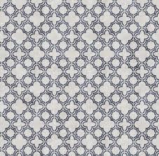 blue gray moroccan tile wallpaper
