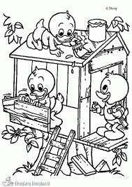 Donald Duck Junior Kleurplaten Brekelmansadviesgroep