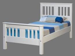 Wentworth White King Single Slat Bed Frame - Bedworld Christchurch ...