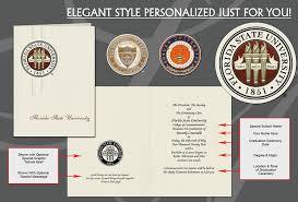 Elegant Graduation Announcements Signature Announcements Personalized College Graduation