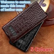 qh07 genuine leather half wrapped case for samsung galaxy note 9 phone case for samsung galaxy
