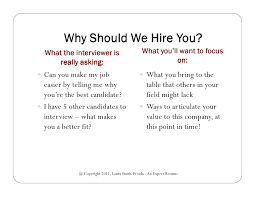 why should we hire you interview question why should i hire you gidiye redformapolitica co