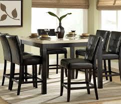 amazing black dining table set