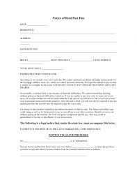 Printable Past Due Letters Koranayodhyaco Past Due Rent