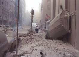 the streets surrounding ground zero on never the streets surrounding ground zero on 12 2001