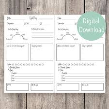 Printable Fertility Daily Journal Pre Pregnancy Tracking Your Journey Trying To Get Pregnant Trying To Conceive