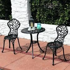 cast aluminum bistro set 3 piece outdoor patio furniture cast aluminum bistro set cast aluminum bistro