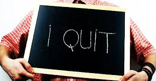 Image result for quitting