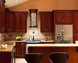 kitchen backsplash ideas with cherry cabinets kitchen ideas design of kitchen tile backsplash ideas