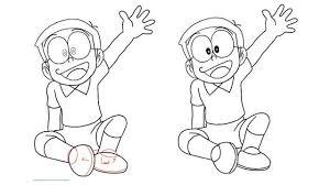 Kumpulan gambar mewarnai doraemon yang banyak dan bagus via marimewarnai.com. Cara Menggambar Doraemon Dan Kawan Kawan Mudah Dengan Bantuan Huruf Citizen6 Liputan6 Com