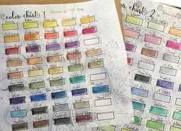 Neocolor 2 Color Chart