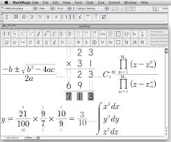mathmagic 8 0 lite for mac os x free standalone equation